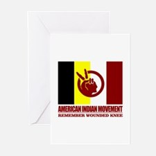 American Indian Movement Greeting Cards