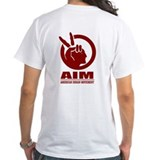 Native american Mens White T-shirts