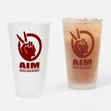 AIM (American Indian Movement) Drinking Glass