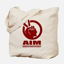 AIM (American Indian Movement) Tote Bag