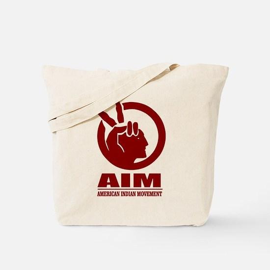 AIM (American Indian Movement) Tote Bag