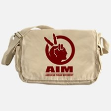 AIM (American Indian Movement) Messenger Bag