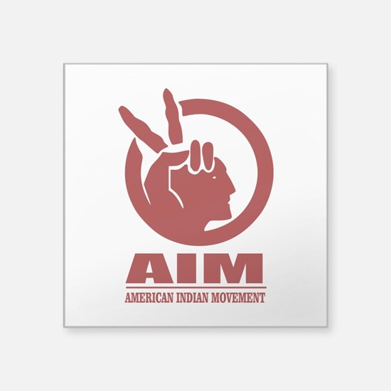 AIM (American Indian Movement) Sticker