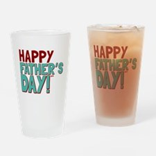 Happy Fathers Day Drinking Glass