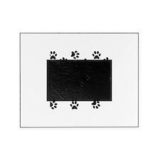 Black Pawprint pattern Picture Frame