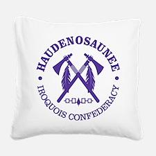 Iroquois (Haudenosaunee) Square Canvas Pillow