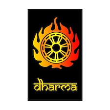 Dharma Sticker (Rect.)