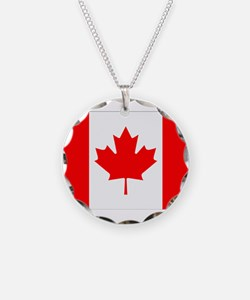 Canada Flag Gifts Necklace