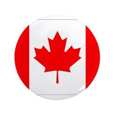 """Canada Flag Gifts 3.5"""" Button"""