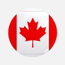 "Canada Flag Gifts 3.5"" Button"