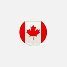 Canada Flag Gifts Mini Button (10 pack)