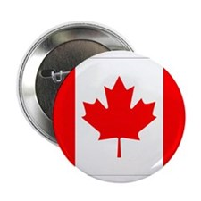 "Canada Flag Gifts 2.25"" Button"