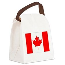 Canada Flag Gifts Canvas Lunch Bag