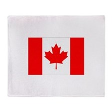 Canada Flag Gifts Throw Blanket