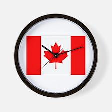 Canada Flag Gifts Wall Clock