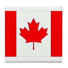 Canada Flag Gifts Tile Coaster