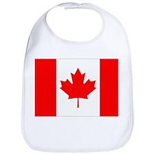 Canada Flag Gifts Bib