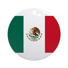 Meican flag gifts Ornament (Round)