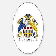 Deacon Oval Decal