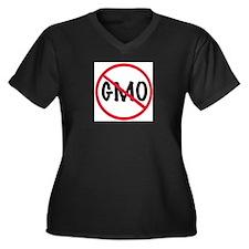 Ban GMO Plus Size T-Shirt