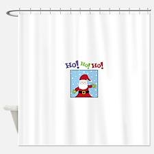 Ho! Ho! Ho! Shower Curtain