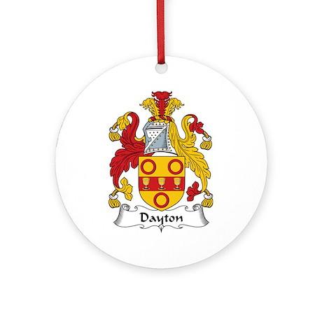 Dayton Ornament (Round)