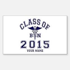 Class Of 2015 BSN Decal
