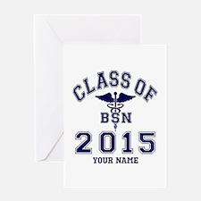 Class Of 2015 BSN Greeting Card