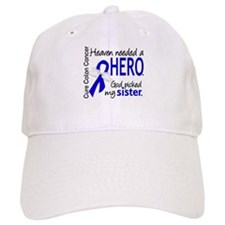 Colon Cancer HeavenNeededHero1.1 Baseball Cap
