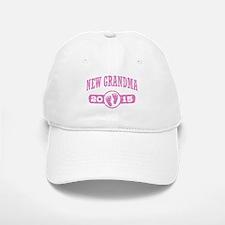 New Grandma 2015 Baseball Baseball Cap