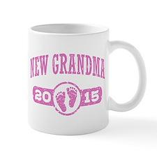 New Grandma 2015 Small Mugs