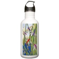 DRAGONFLY SUMMER Water Bottle