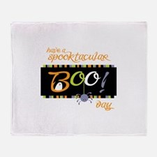 Have A Spooktacular Day Throw Blanket