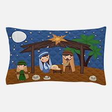 Nativity Scene Pillow Case