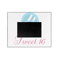 Sweet 16 Baby Blue Car Picture Frame