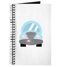 Cute Baby Blue Car 2 Journal