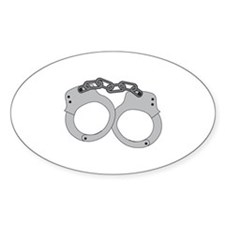 Handcuffs Decal
