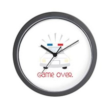 Game Over. Wall Clock