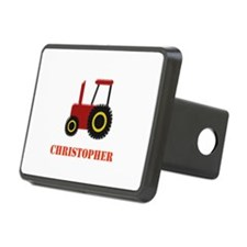 Personalised Red Tractor Hitch Cover