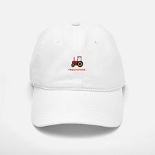 Personalised Red Tractor Baseball Baseball Cap