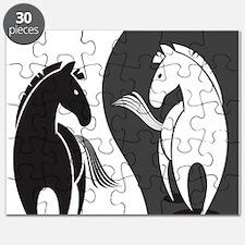 Yin Yang Horses Puzzle
