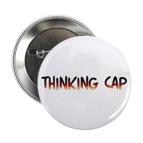 Thinking cap Button