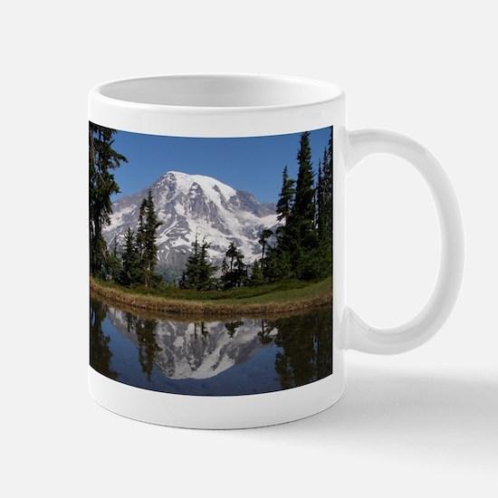 Mount Rainier Stainless Steel Travel Mugs