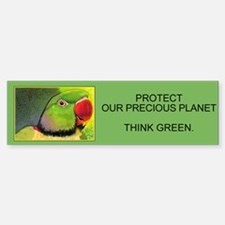Protect our precious Planet..Bumper Bumper Bumper Sticker