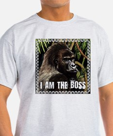 gorilla i am the boss T-Shirt