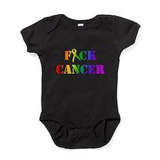 Cute Cancer Baby Bodysuit