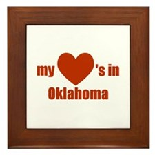 Oklahoma Framed Tile