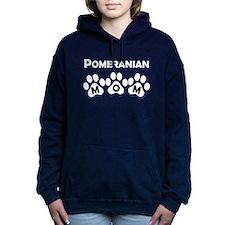 Pomeranian Mom Women's Hooded Sweatshirt