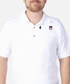 USA soccer 4 Golf Shirt