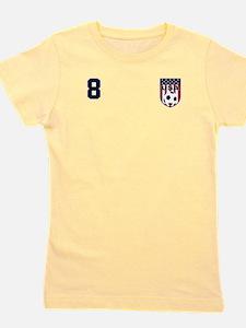 USA soccer 8 Girl's Tee